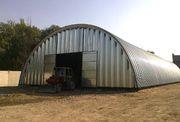 Круглый склад с земельным участком в аренду.