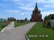 Застройка нового микрорайона на Кубани в сельской местности.